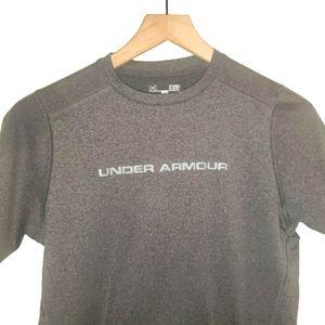 4/$25 Under Armour Heat Gear Mens T Shirt Gray S